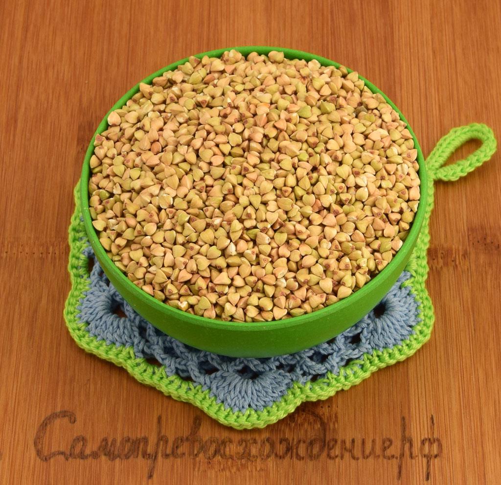 Зелёная гречка для здорового питания