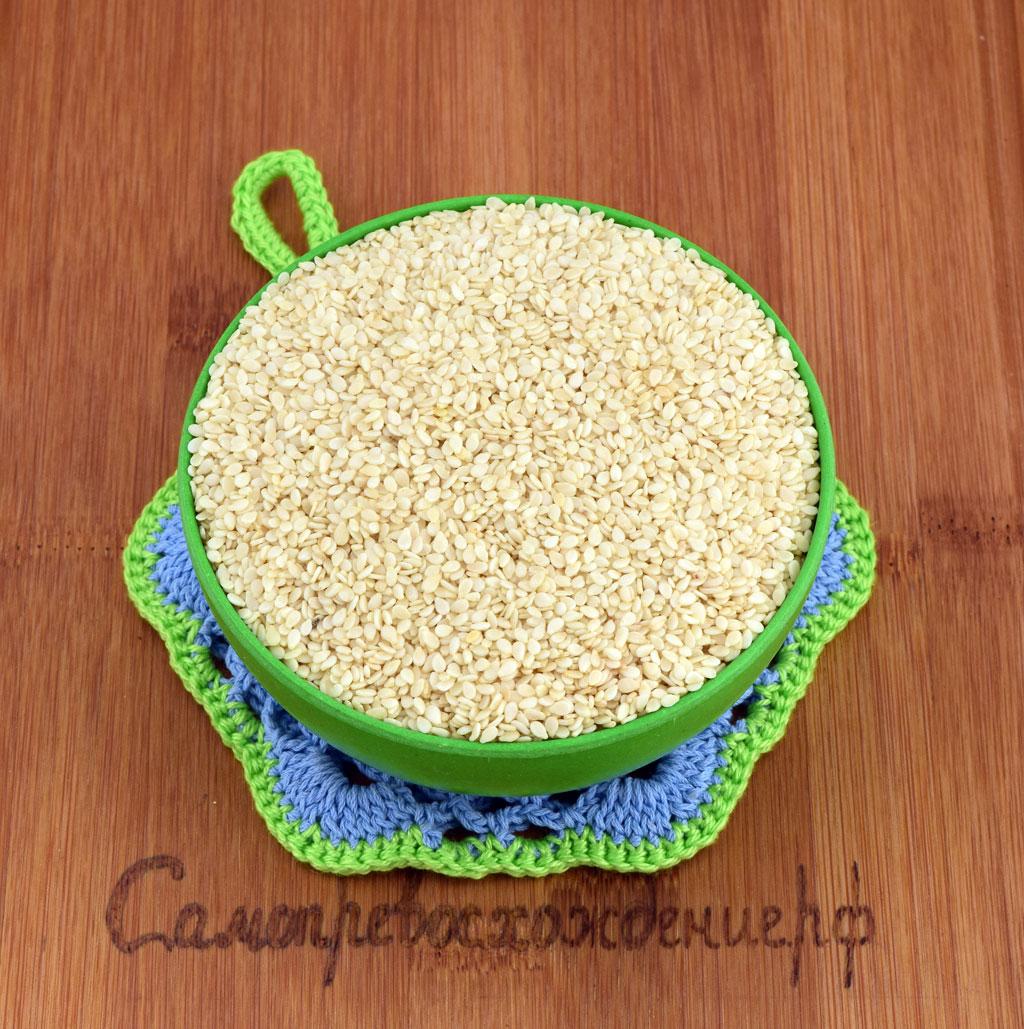Семена белого кунжута для здорового питания
